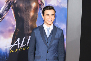 Keean Johnson Premiere Of 20th Century Fox's 'Alita: Battle Angel'