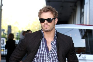 Kellan Lutz Kellan Lutz Spotted at the ITV Studios — Part 2