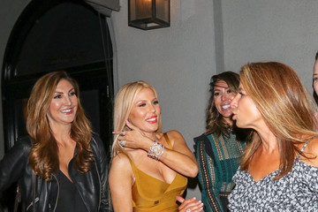 Kelly Dodd Erika Jayne At Craig's In West Hollywood