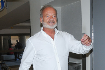 Kelsey Grammer Kelsey Grammer is all smiles at LAX