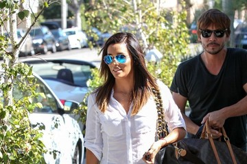 Ken Paves Eva Longoria Out in Beverly Hills