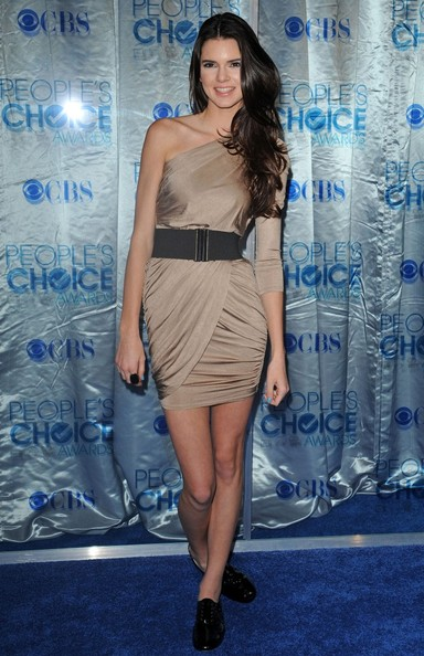 Kendall Jenner 2011 People's Choice Awards - Arrivals.Nokia Theatre L.A. Live, Los Angeles, CA.January 5, 2011.