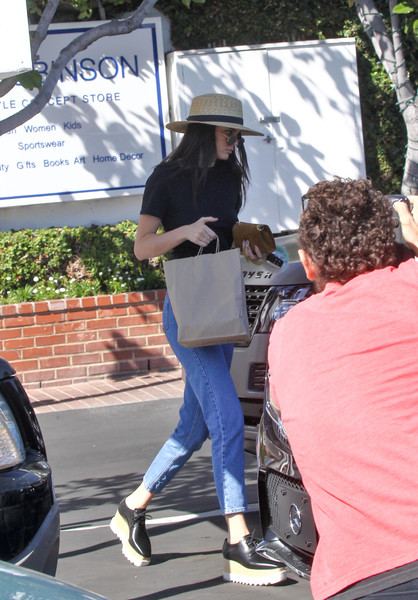 ecbfc2107cd Kendall Jenner Photos - 3451 of 11724. Kendall Jenner in Platform Sneakers