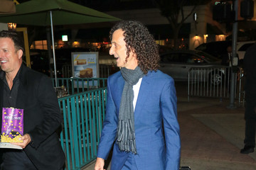 Kenny G Larsa Pippen Leaves a Halloween Party at Delilah