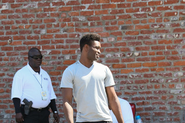 Keo Motsepe Keo Motsepe at the 'DWTS' Studio