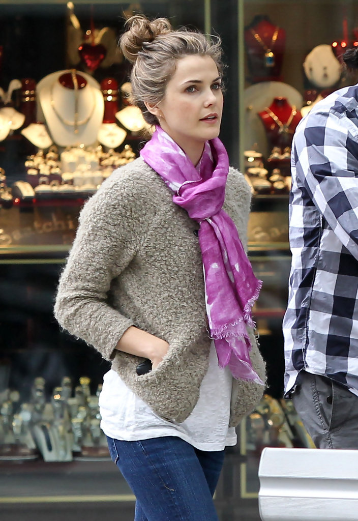 Keri Russell Out with Family - Zimbio