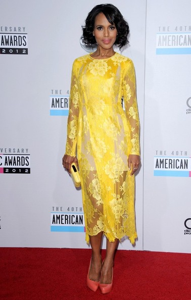 Kerry Washington - American Music Awards 2012