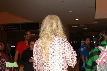 Kesha Kesha is seen at LAX