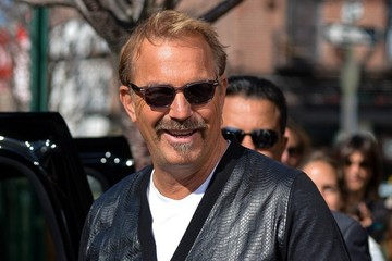 Kevin Costner Kevin Costner Spotted in NYC