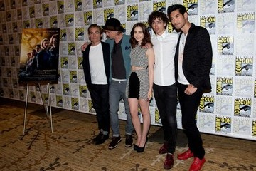 Kevin Zegers Lily Collins 'The Mortal Instruments' at Comic-Con