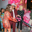 Khloe Kardashian Ashley Graham Is Seen At The PrettyLittleThing Launch In West Hollywood
