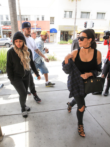 The Kardashians Have a Family Outing With Rob, Kim, and Blac Chyna