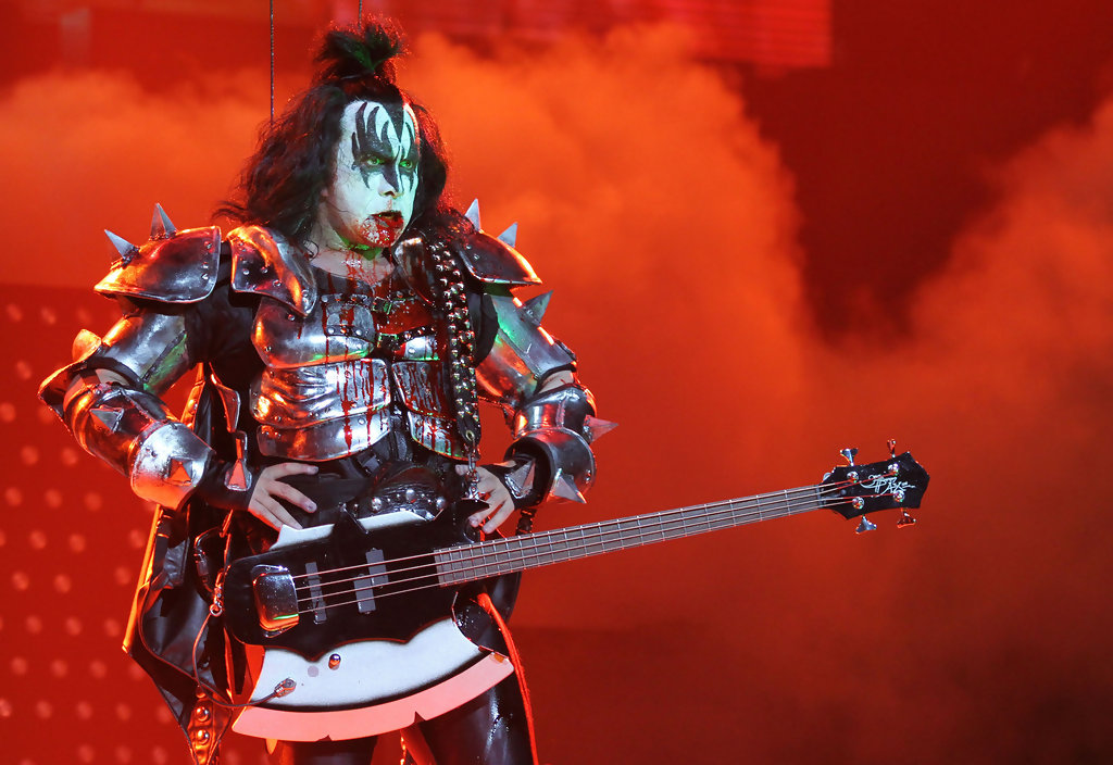 Gene Simmons In Kiss Alive Tour In Canada Zimbio