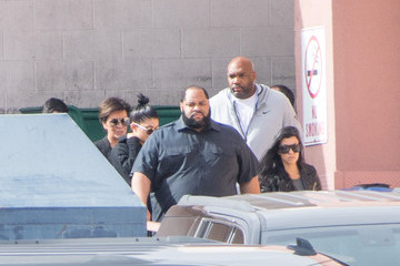 Kris Jenner Kylie Jenner The Kardashians and Jenners Depart Sunrise Hospital & Medical Center