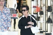 Kris Jenner Shops at Chanel