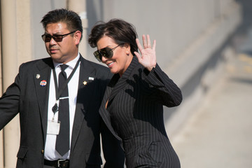 Kris Jenner Kris Jenner at 'Jimmy Kimmel' 2
