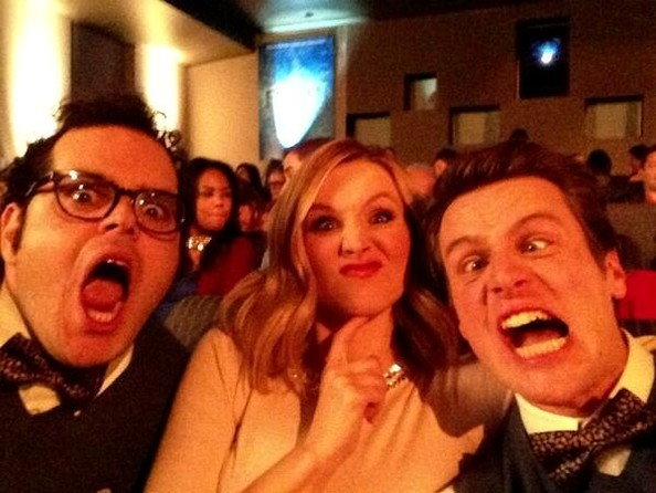 Kristen Bell and Jonathan Groff Photos Photos - Celebrity ...Kristen Bell And Jonathan Groff