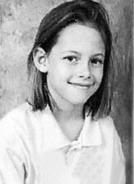 Kristen Stewart Kristen Stewart as a young girl.