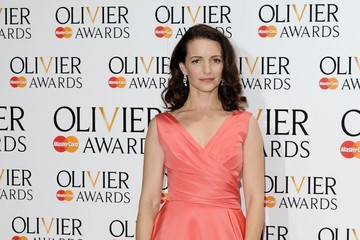 Kristin Davis Press Room at the Olivier Awards