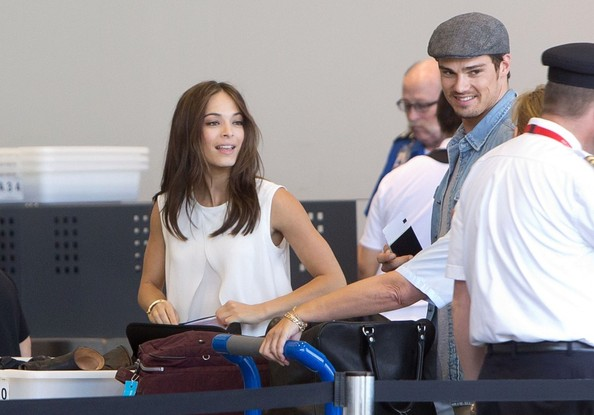 Kristin Kreuk - Kristin Kreuk and Jay Ryan Take Off
