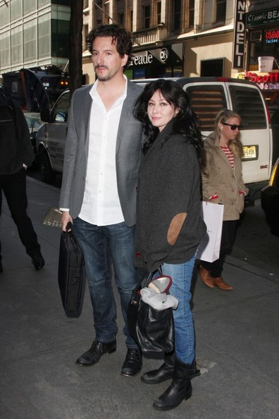 Shannen Doherty Arrives for the 'Today' Show