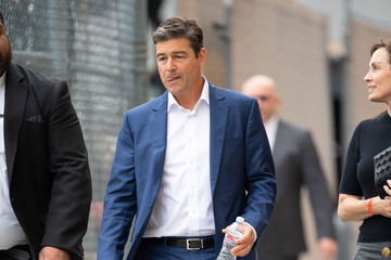 Kyle Chandler Kyle Chandler at 'Kimmel'..