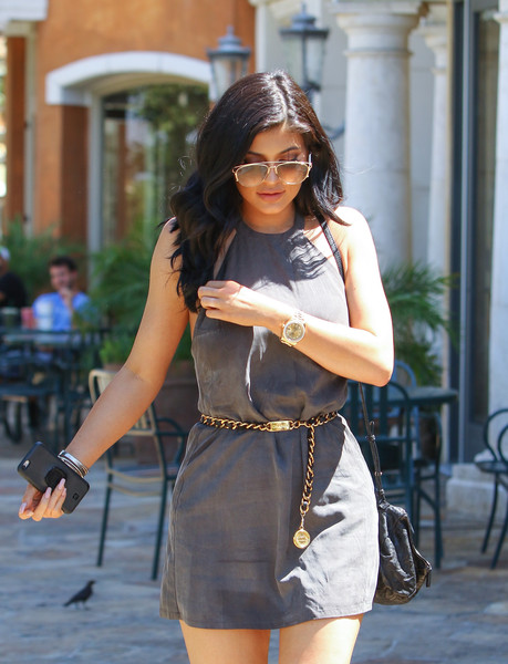 1410427d6ac Kylie Jenner Photos Photos - Kylie Jenner Out in Los Angeles - Zimbio