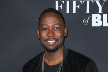Lamorne Morris Celebrities Attend the 'Fifty Shades of Black Premiere'