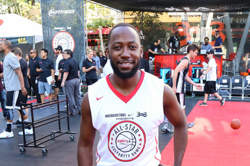 Lamorne Morris Celebrities Attend the 8th Annual Nike Basketball 3ON3 Tournament at Microsoft Square