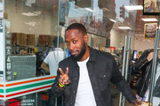 Lamorne Morris Outside ArcLight Theatre In Hollywood