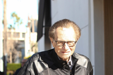 Larry King Larry King Shopping in Beverly Hills
