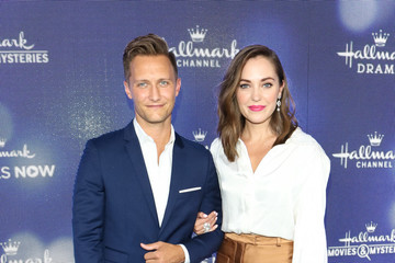 Laura Osnes Nathan Johnson Hallmark Channel And Hallmark Movies And Mysteries Summer 2019 TCA Press Tour Event - Arrivals