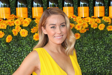 Lauren Conrad Celebrities Arrive at the Sixth-Annual Veuve Clicquot Polo Classic