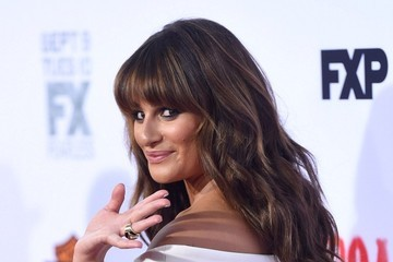"Lea Michele ""Sons of Anarchy"" Premiere"