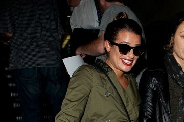 Lea Michele Lea Michele Arrives in LA