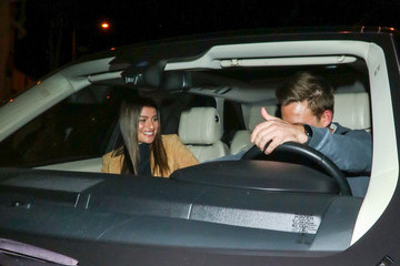 Lea Michele Lea Michele And Zandy Reich Outside Craig's Restaurant In West Hollywood