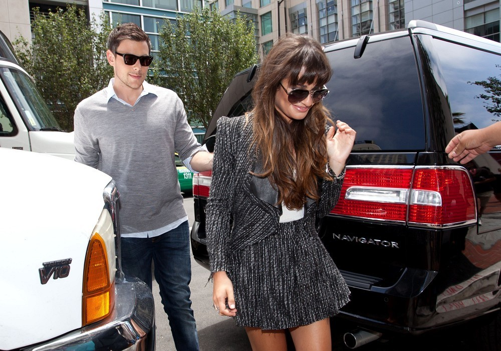 Lea Michele Photos Photos - Lea Michele and Cory Monteith ...