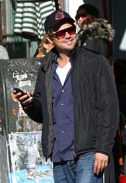 Leonardo Dicaprio Cafe Gitane Lunch With Baz Luhrmann