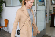 Leslie Mann is seen in Los Angeles, California.