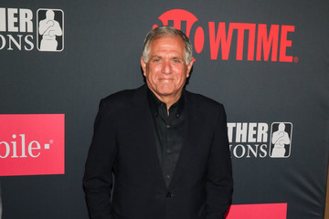 Leslie Moonves VIP Pre-Fight Party Arrivals on the T-Mobile Magenta Carpet for Mayweather VS McGregor