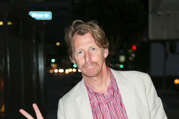 Lew Temple Lew Temple And Mark Young Outside Arena Cinalounge