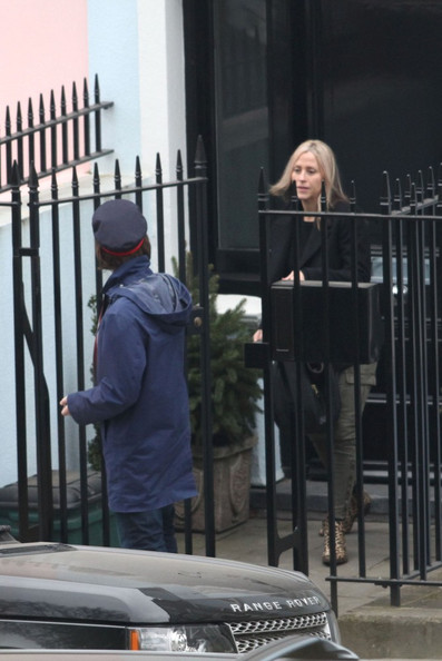 Liam Gallagher and Nicole Appleton in London