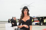 Life Ball Aviator Stars arrive at the Vienna airport.