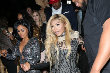 Lil Kim Celebrities Are Seen at No Name Nightclub