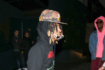 Lil Twist Justin Combs Outside Poppy Nightclub in West Hollywood