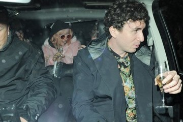 Lily Allen Lily Allen Gets Dinner with Her Ex and Her Husband