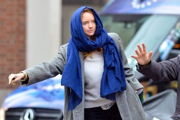 Lily Cole Lily Cole Catches a Cab in NYC — Part 2
