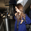 Lily Collins Lily Collins Strolls Through LAX
