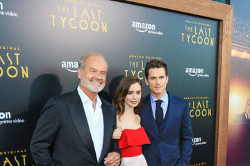 Lily Collins Premiere Of Amazon Studios' 'The Last Tycoon'