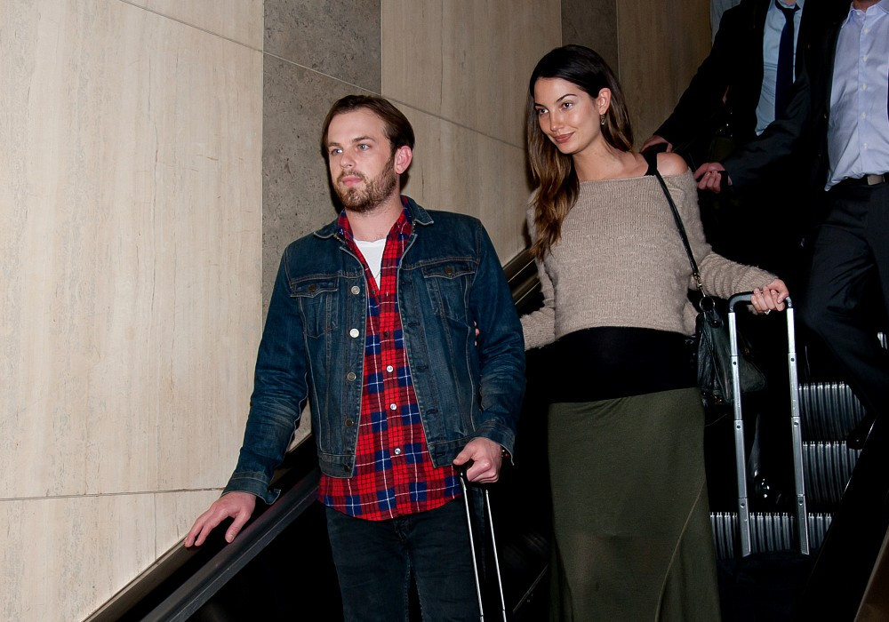 Lily Aldrige And Caleb Followill At
